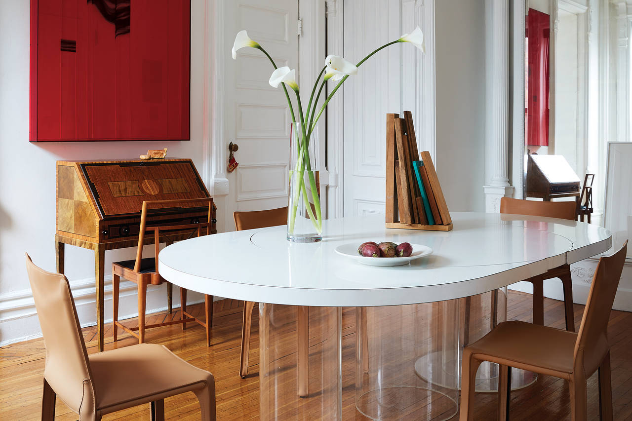 Inside The Brooklyn Apartment Of The Interior Designer Whose ... pour Table Jardin Super U