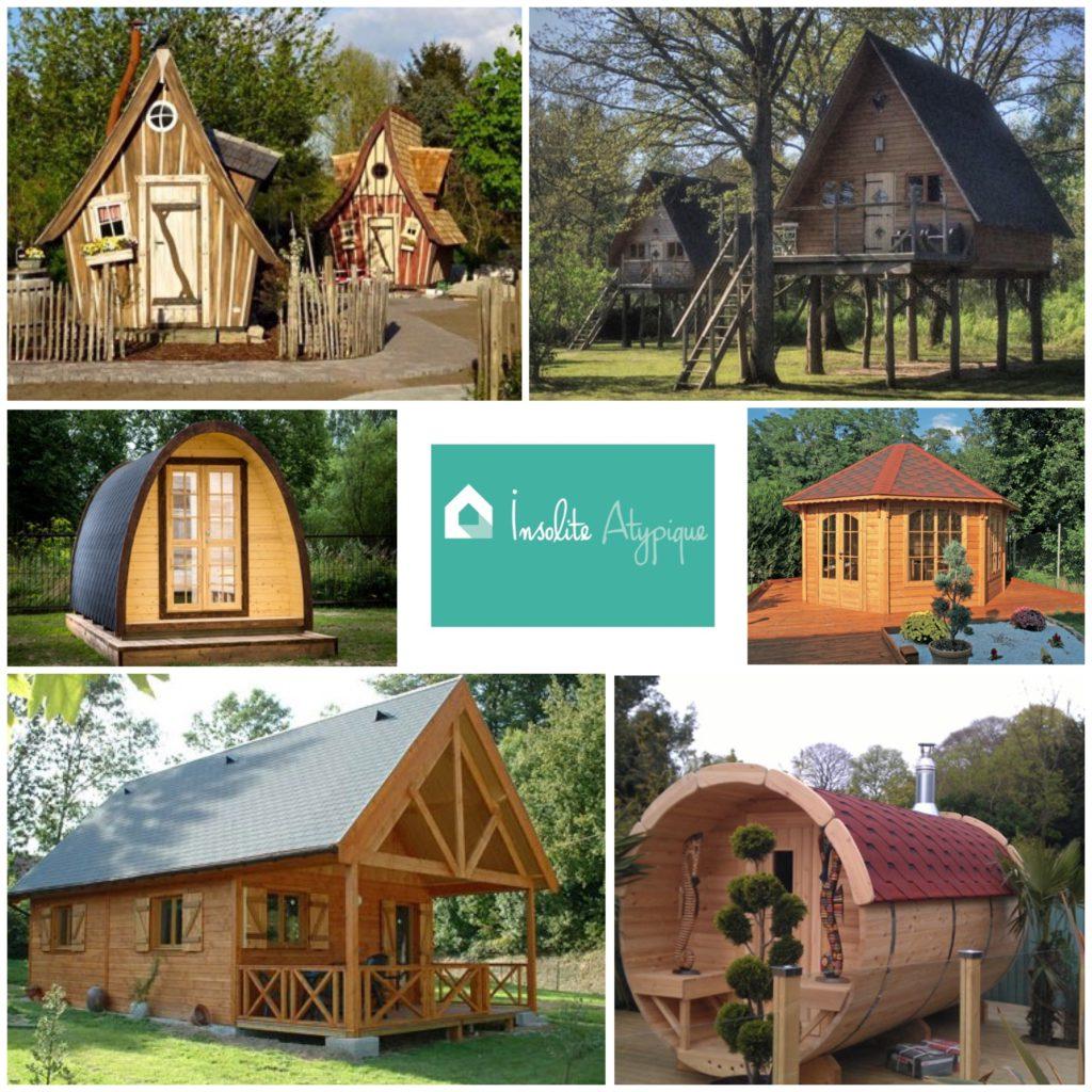 Insolite Atypique serapportantà Construire Une Cabane De Jardin