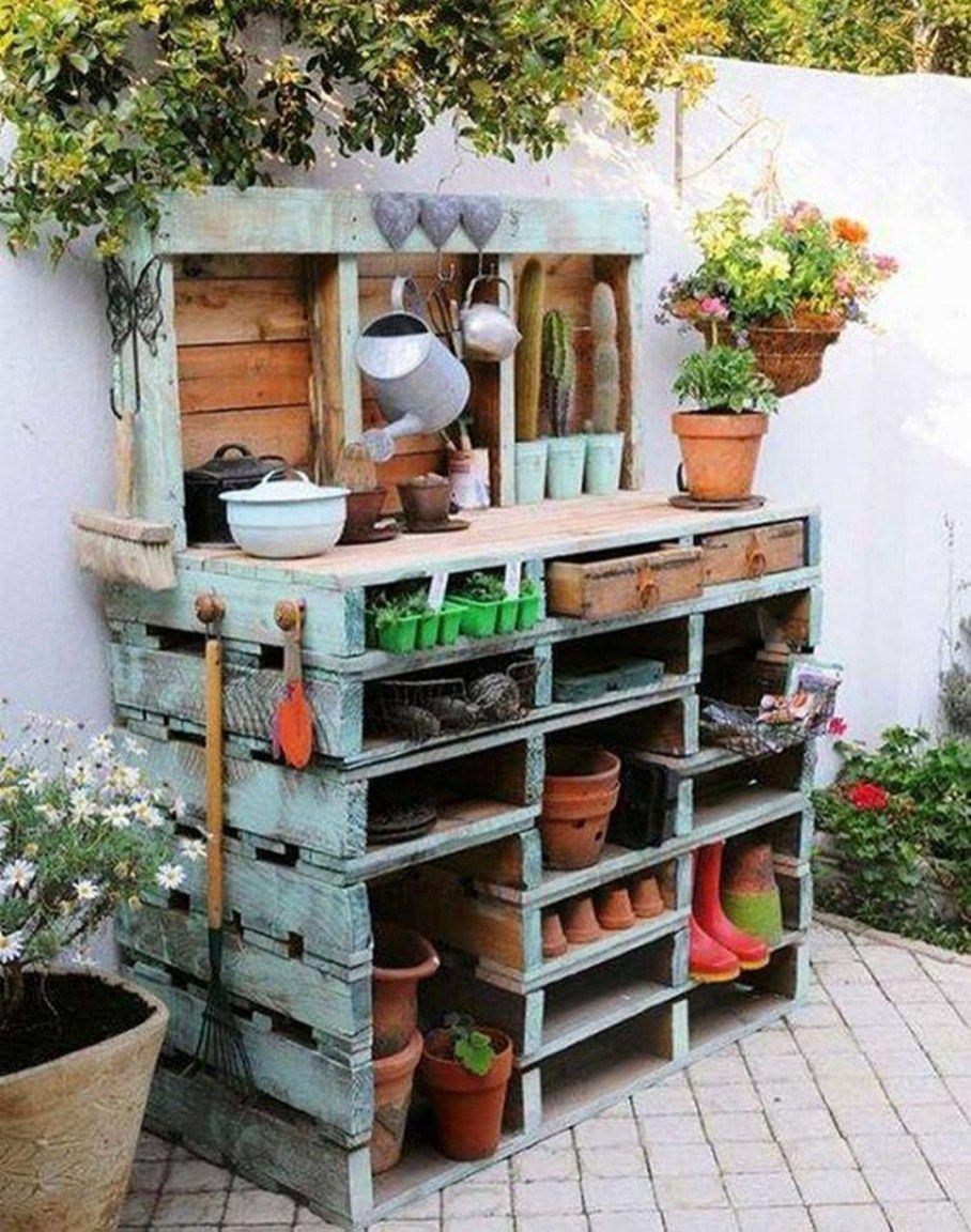Inspiring Diy Pallet Garden Planter Ideas (3 | Palette ... intérieur Idée De Génie Jardin