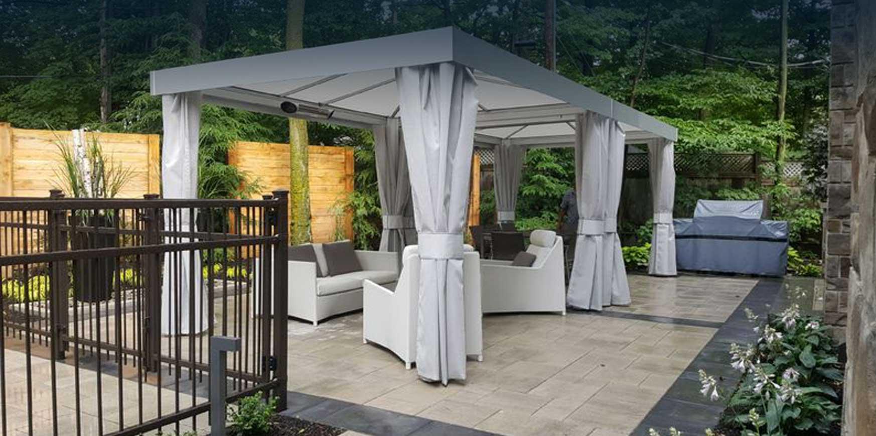 Installation Jm: Spécialiste Auvent Et Abri De Jardin avec Abri De Jardin Toile
