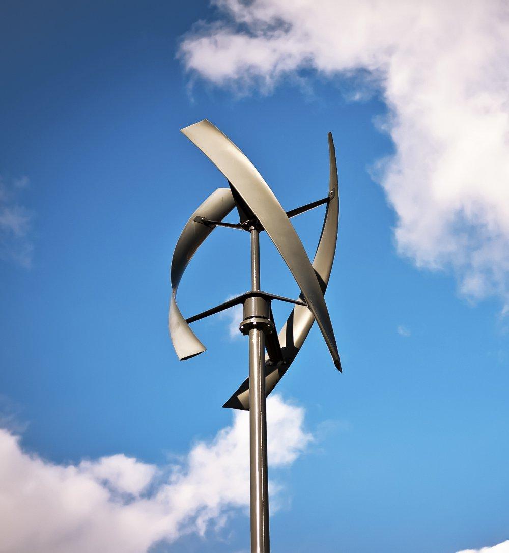 Installer Sa Propre Éolienne, C'est Possible - Marie Claire à Construire Une Eolienne De Jardin