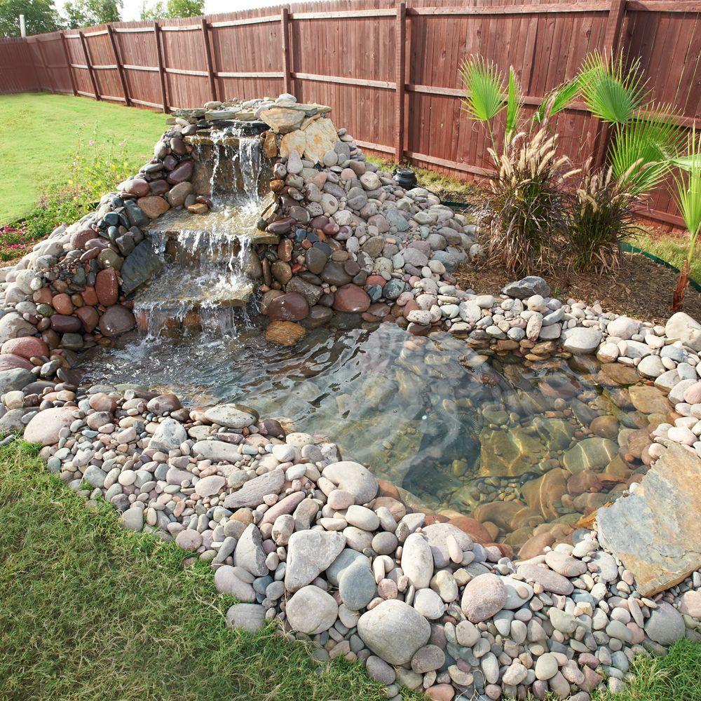 Intégrez Un Plan D'eau À Votre Déco ! On Vous Explique ... serapportantà Creation Cascade Bassin Jardin
