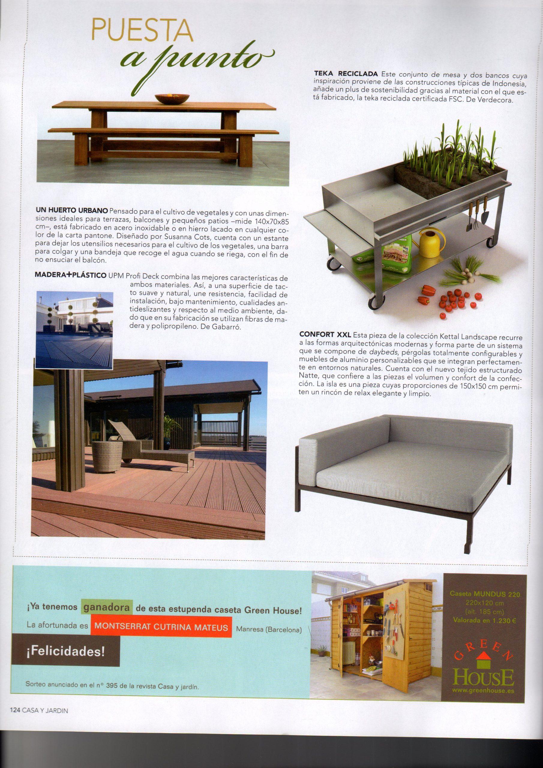 Interior Casa Y Jardin – Susanna Cots Interior Design à Casa Table De Jardin