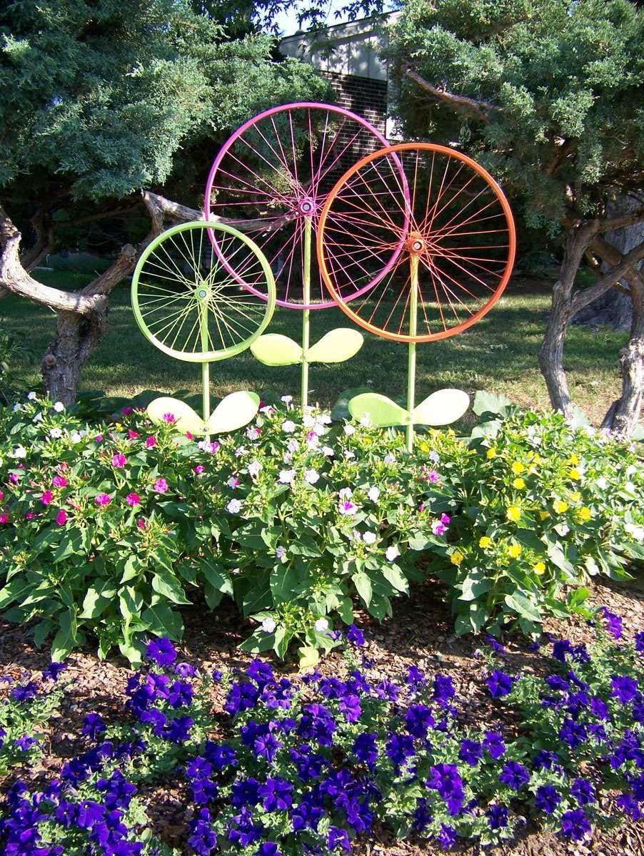 J'aime Cette Photo Sur Deco.fr ! Et Vous ? | Decoration ... pour Velo Deco Jardin