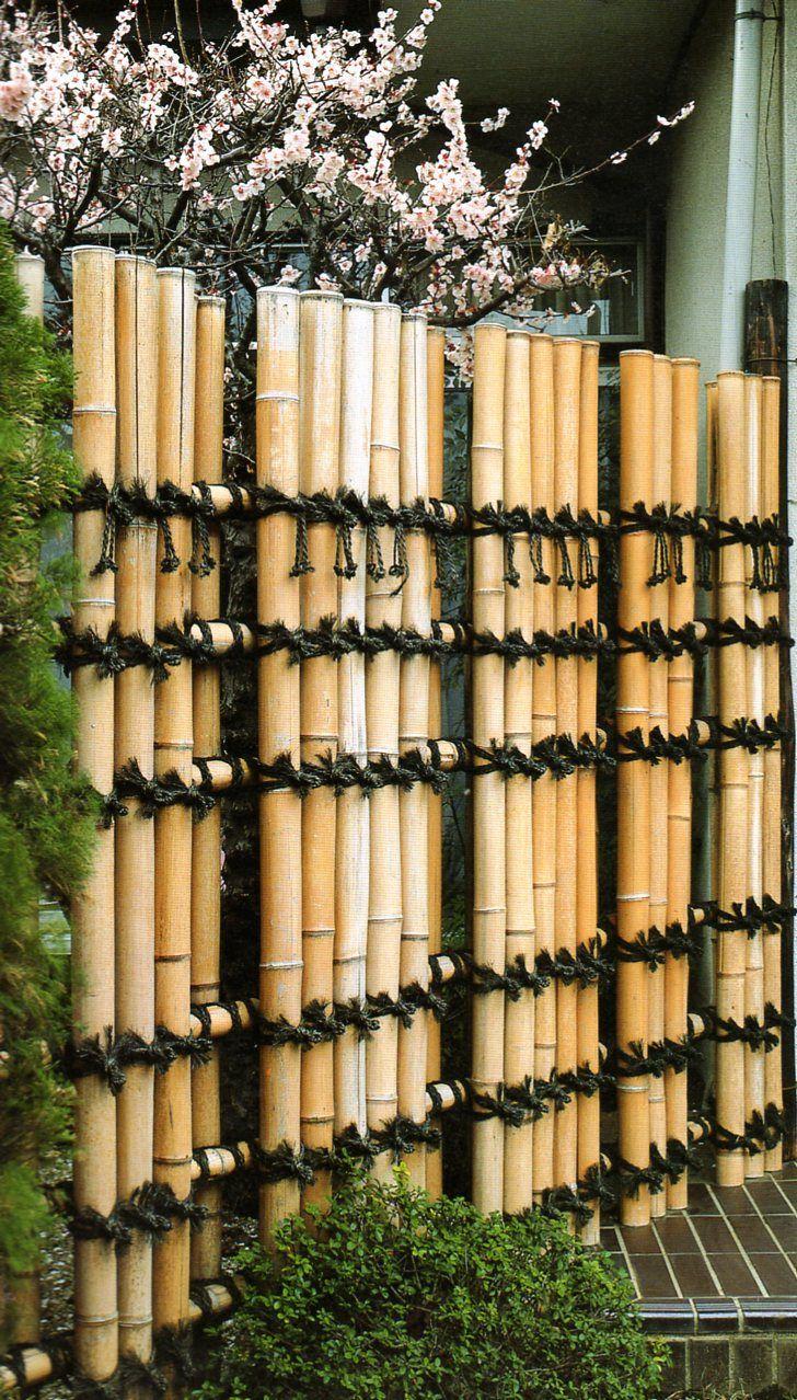 Japanese Bamboo Fences   Outdoor Stuff   Bambous Jardin ... concernant Clotures Métalliques Jardin