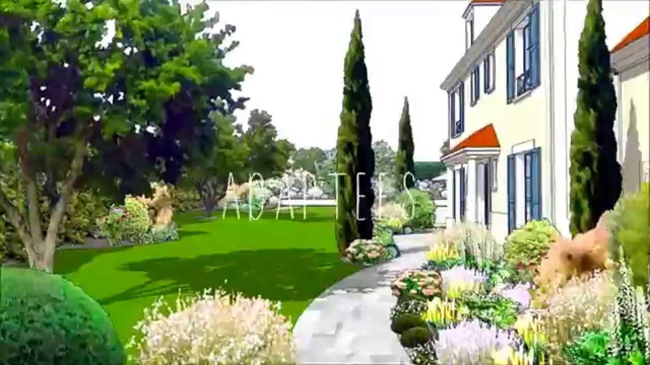Jardin 3D - Animation Paysage Project Architecte Paysagiste avec Logiciel Amenagement Jardin