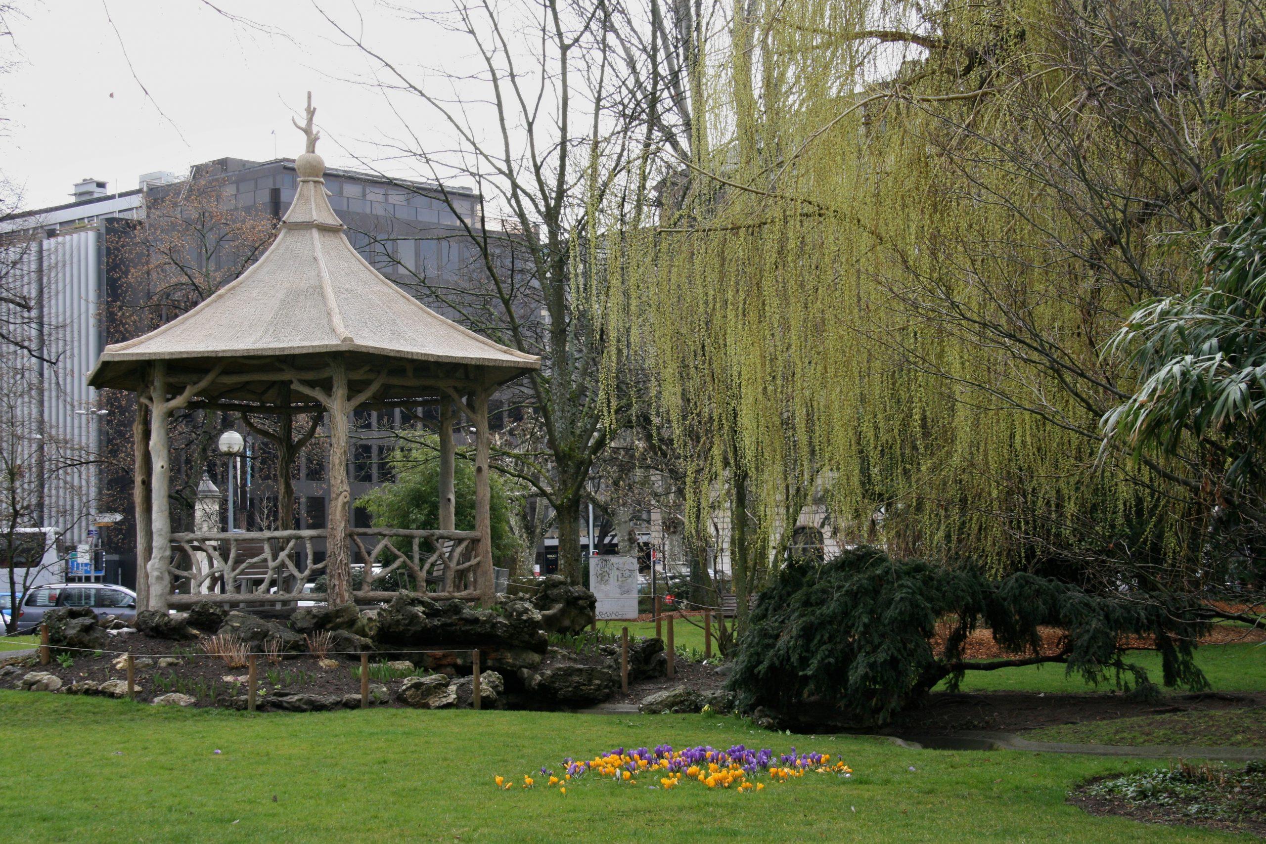 Jardin Anglais (Genève) — Wikipédia concernant Pavillon De Jardin Suisse