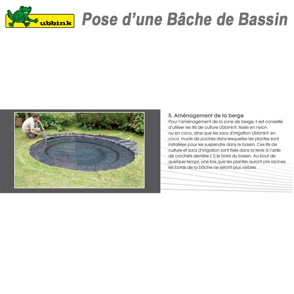 Jardin Bâche Pour Bassin Bâche Pour Bassin De Jardin 1,0 Mm ... serapportantà Bache Noire Jardin