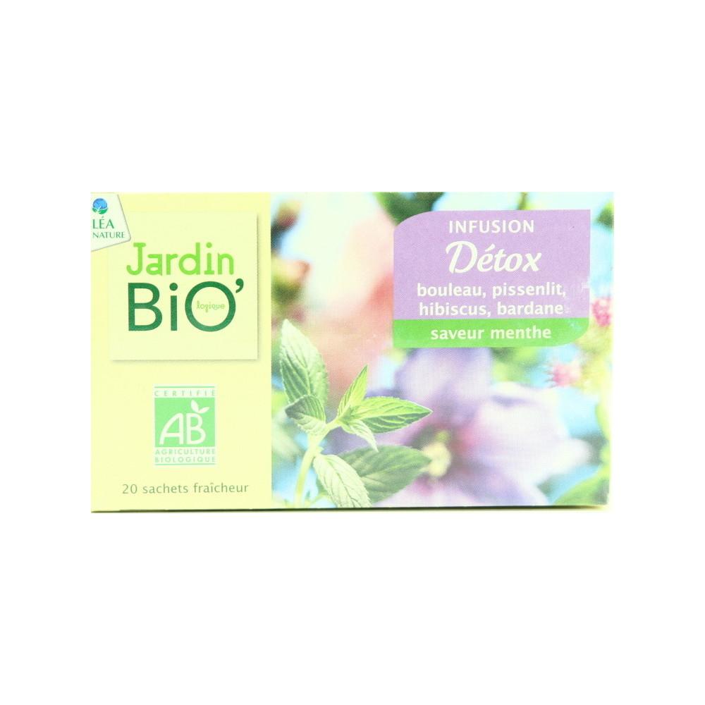 Jardin Bio Herbal Tea Detoxifies Organic * 20 1.5 G ... serapportantà Jardin Bio Infusion