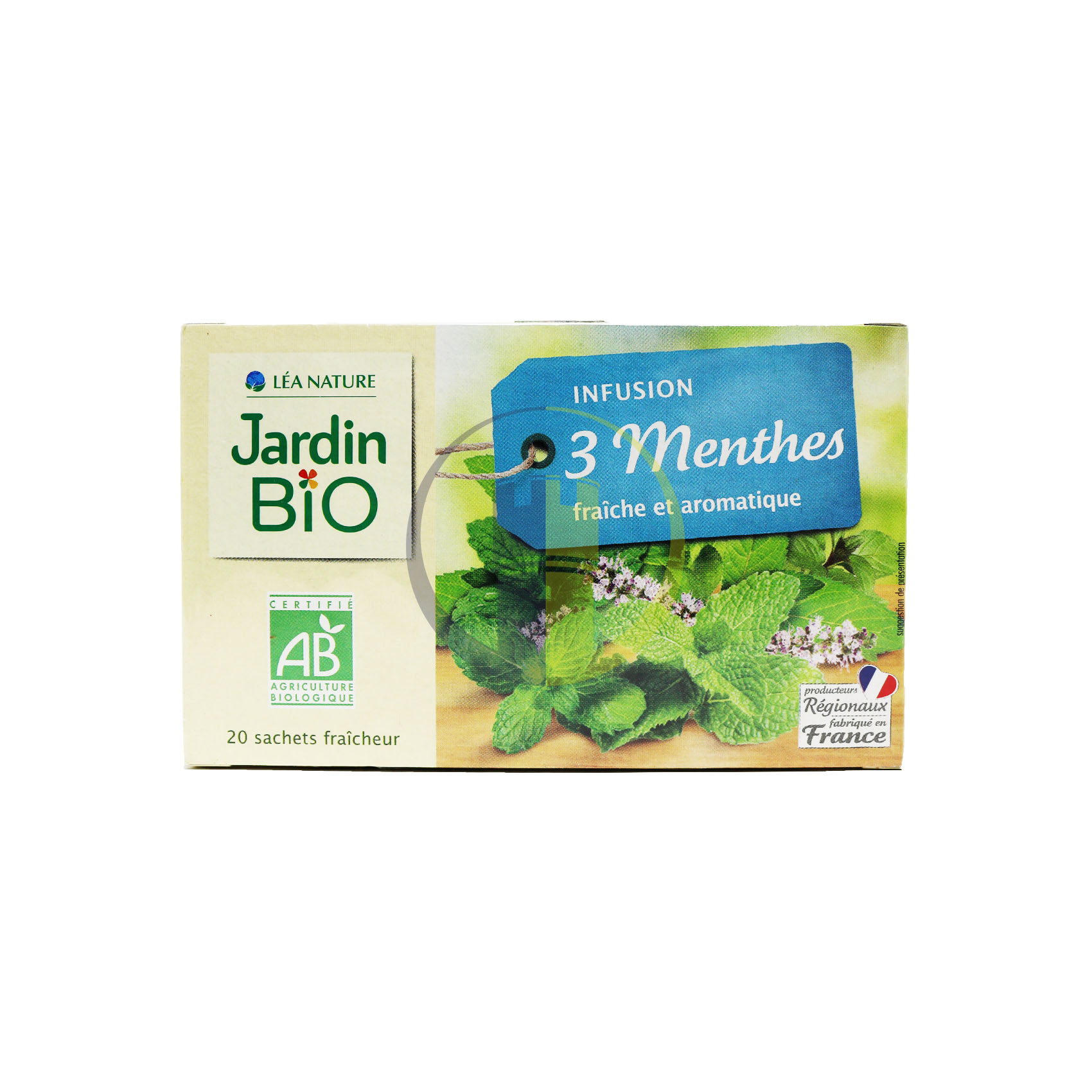Jardin Bio Three Mints 30G concernant Jardin Bio Infusion
