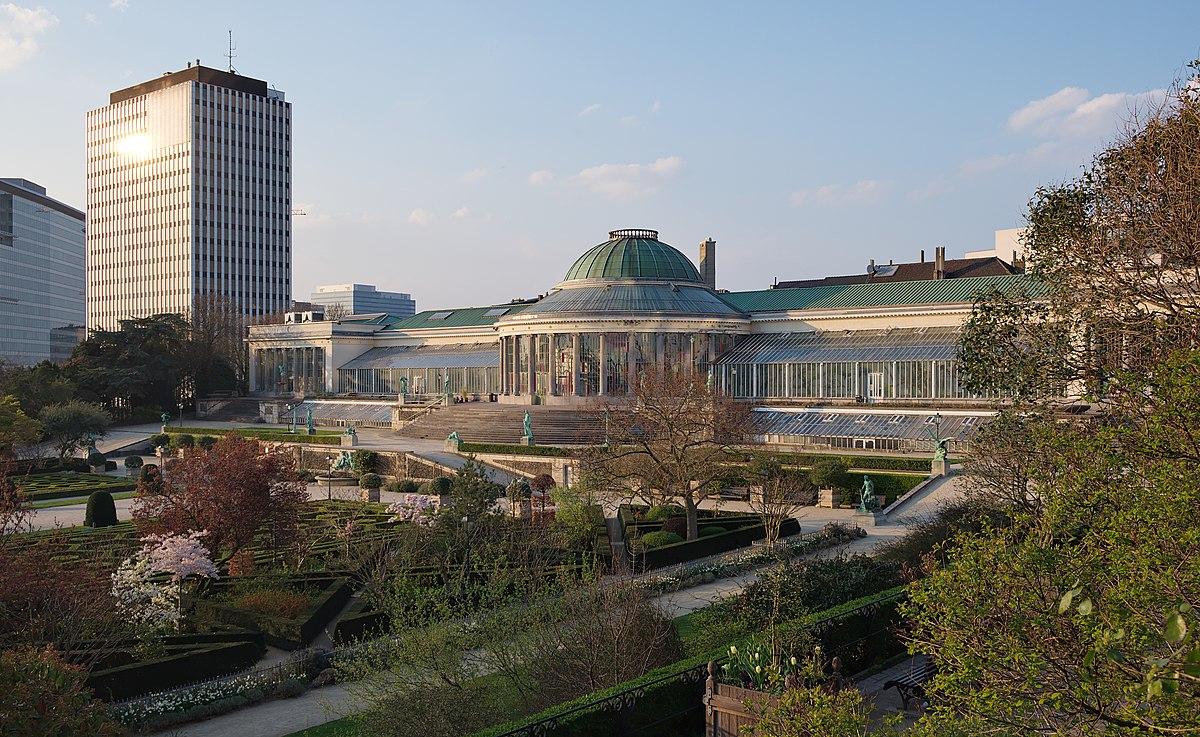 Jardin Botanique De Bruxelles — Wikipédia tout Serre De Jardin Occasion