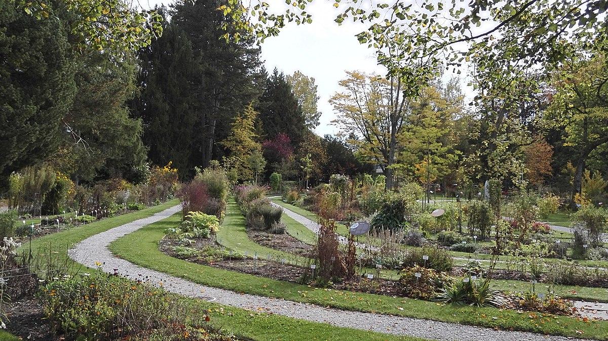 Jardin Botanique De L'université De Fribourg — Wikipédia dedans Pavillon De Jardin Suisse