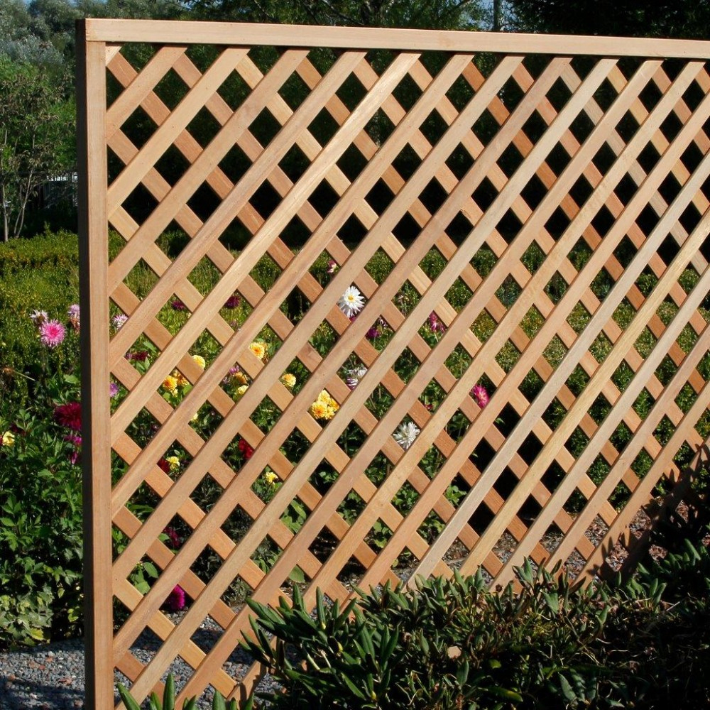 Jardin Bûcher En Treillis De Bois Mobilier De Jardin Bancs ... dedans Treillis Bois Jardin