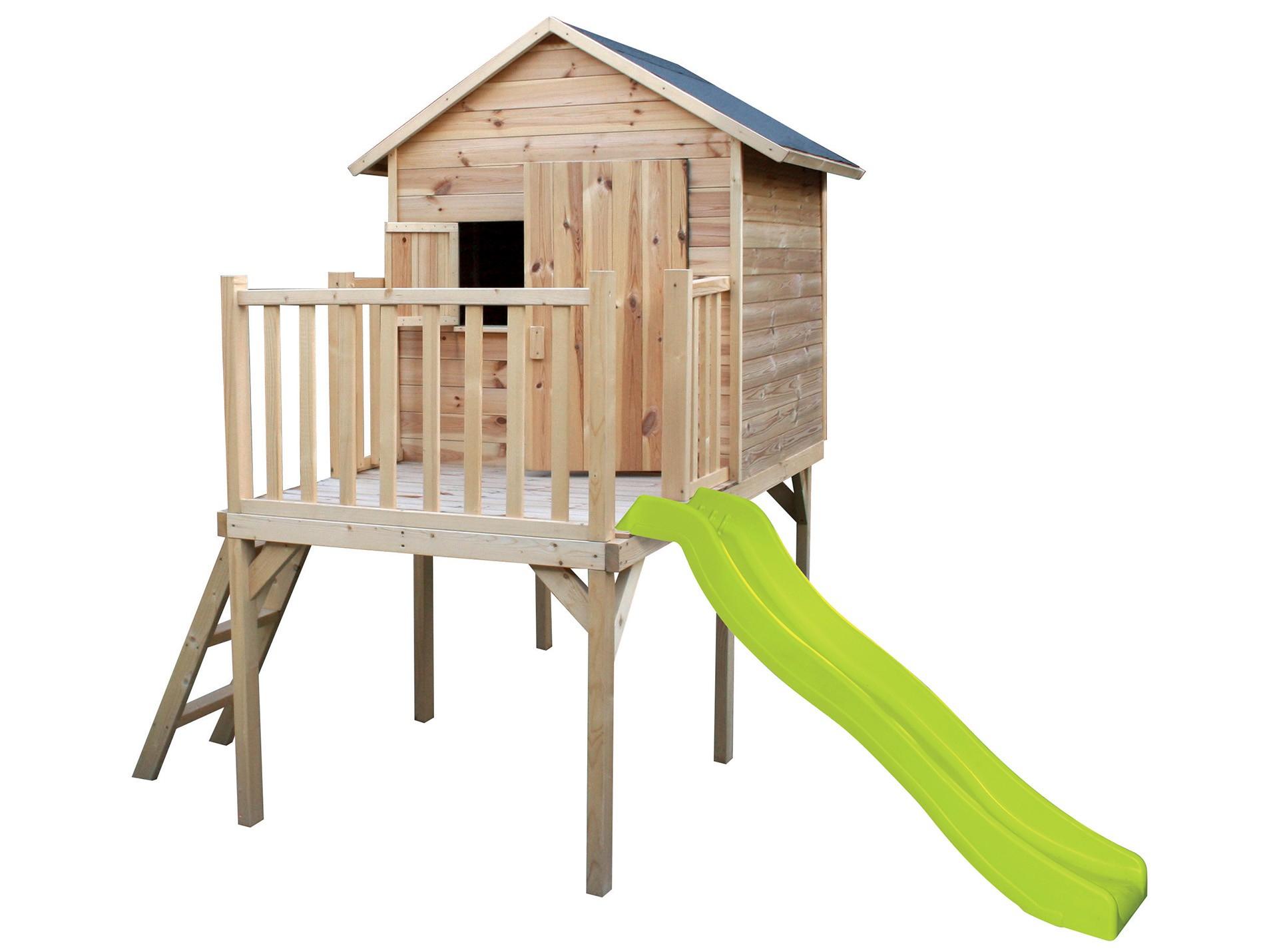 Jardin Cabane Enfant Igor En Bois Soulet Rangement Et ... pour Cabane De Jardin Enfant Bois