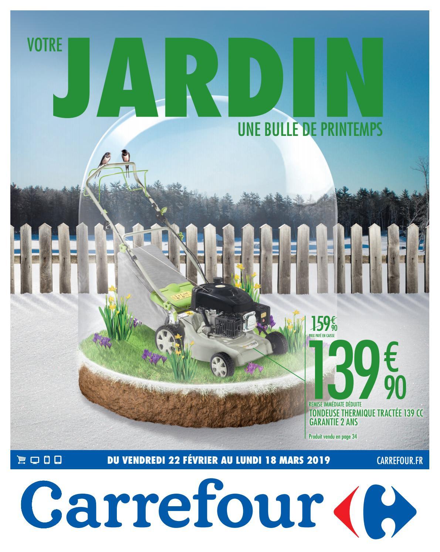 Jardin Carrefour By Ofertas Supermercados - Issuu avec Bordure De Jardin Special Tondeuse