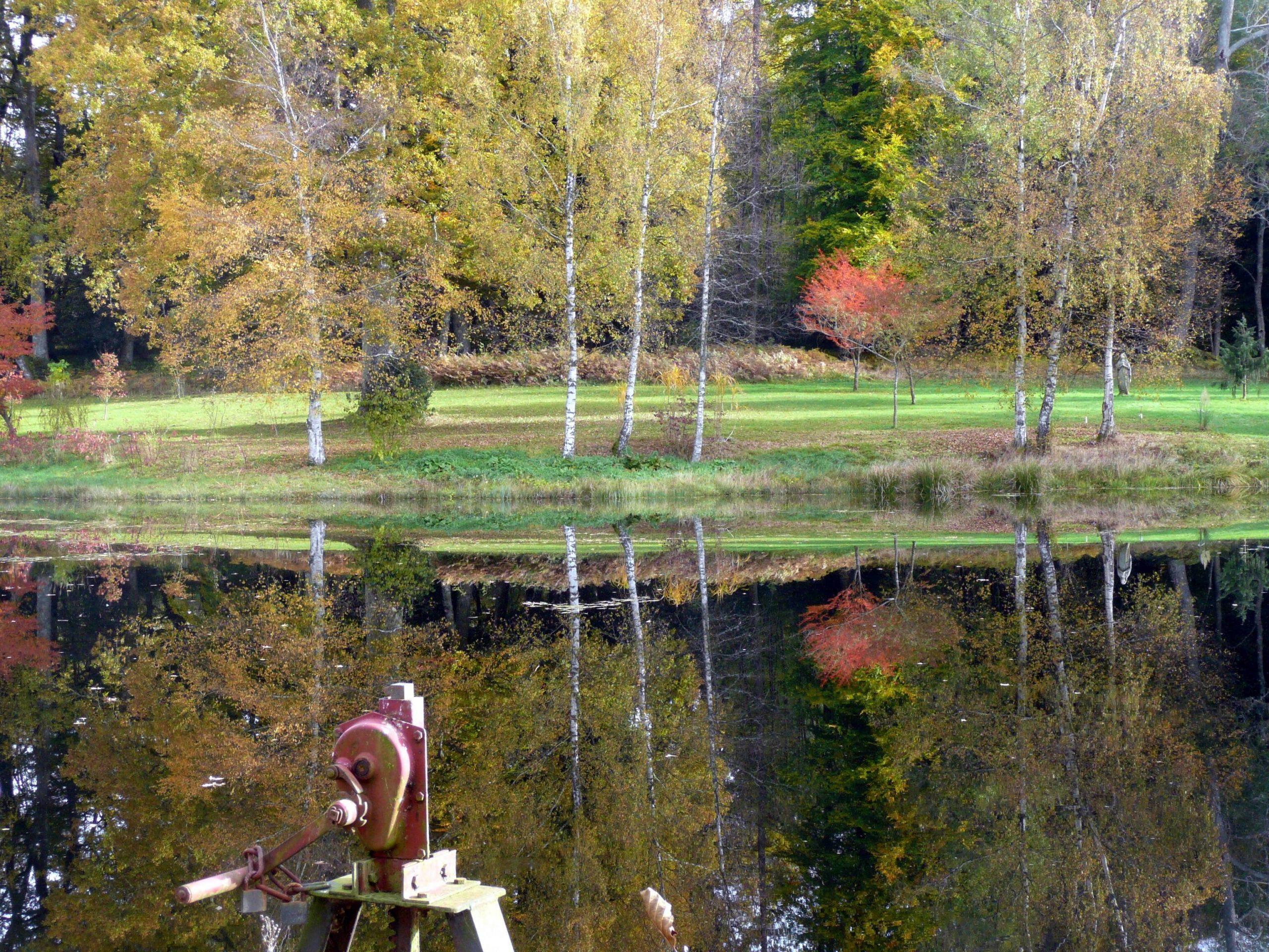 Jardin De La Chaux - 58230 Alligny-En-Morvan destiné Chaux Jardin