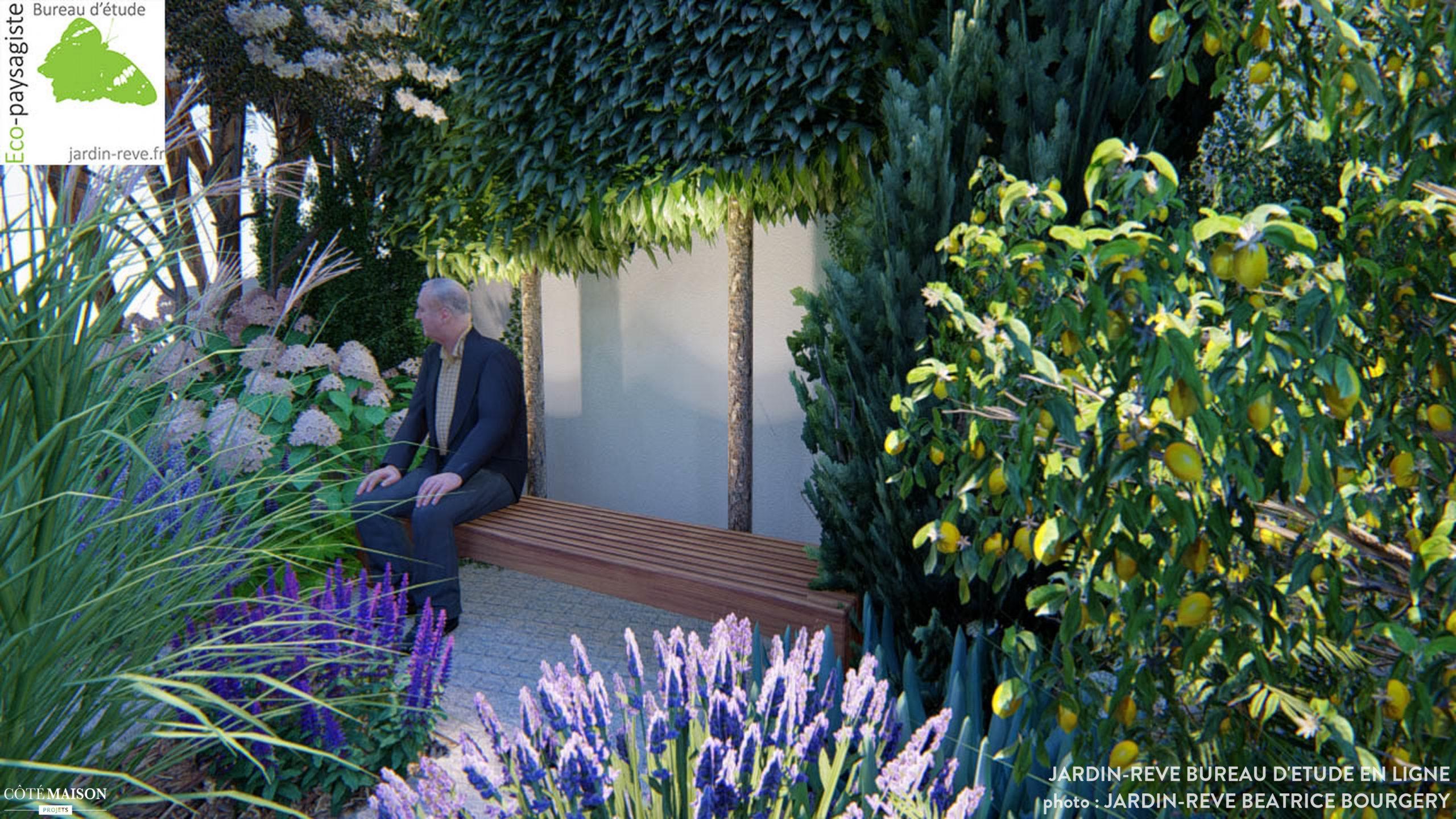 Jardin De Ville En Espagne, Jardin-Reve Bureau D'étude ... destiné Jardin De Reve Paysagiste