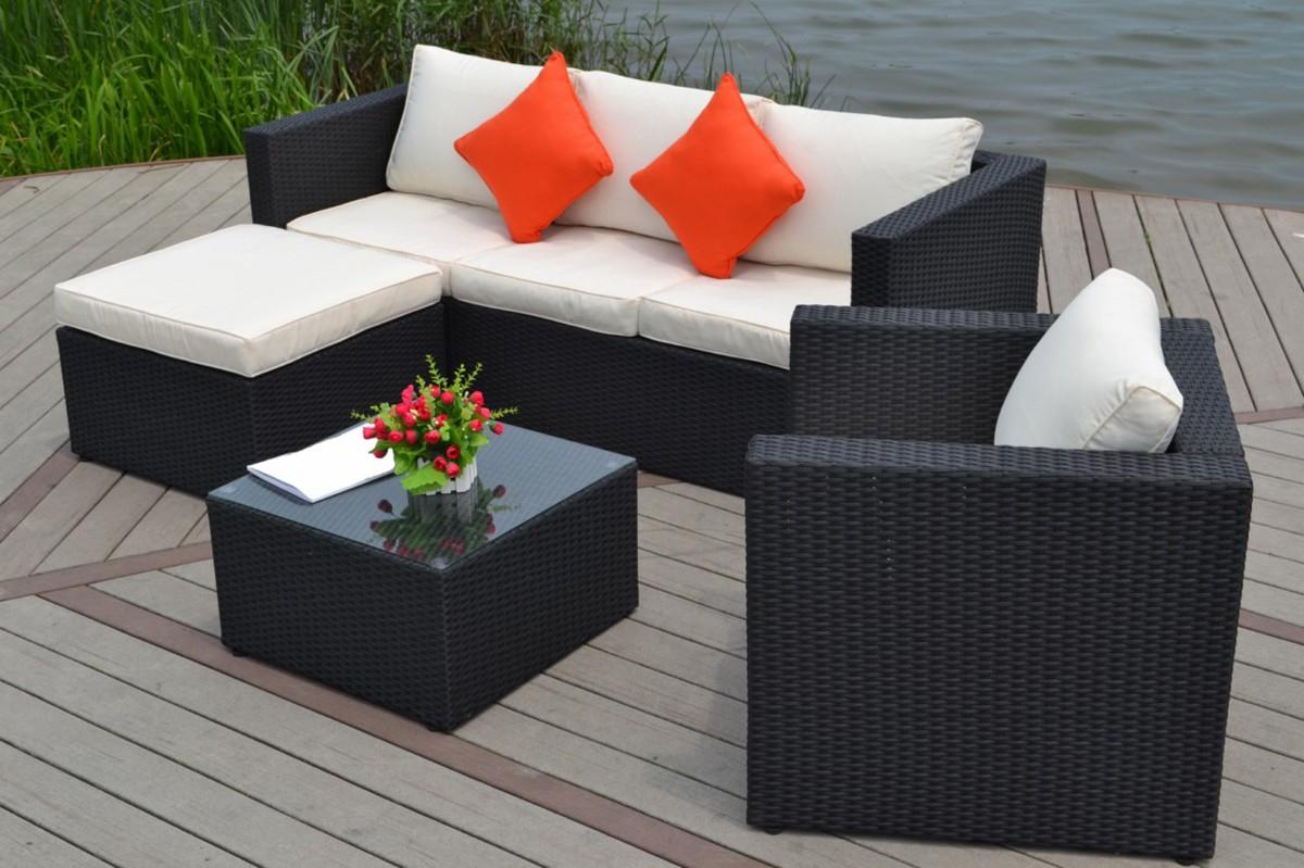 Jardin Decoration Pas Photo De Cher Table Exterieur Résine ... serapportantà Meubles De Jardin Pas Cher