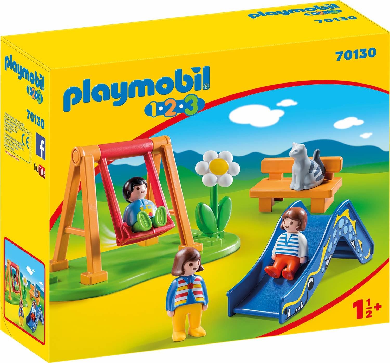 Jardin D'enfant - Playmobil 1.2.3 70130 dedans Jardin D Enfant Playmobil