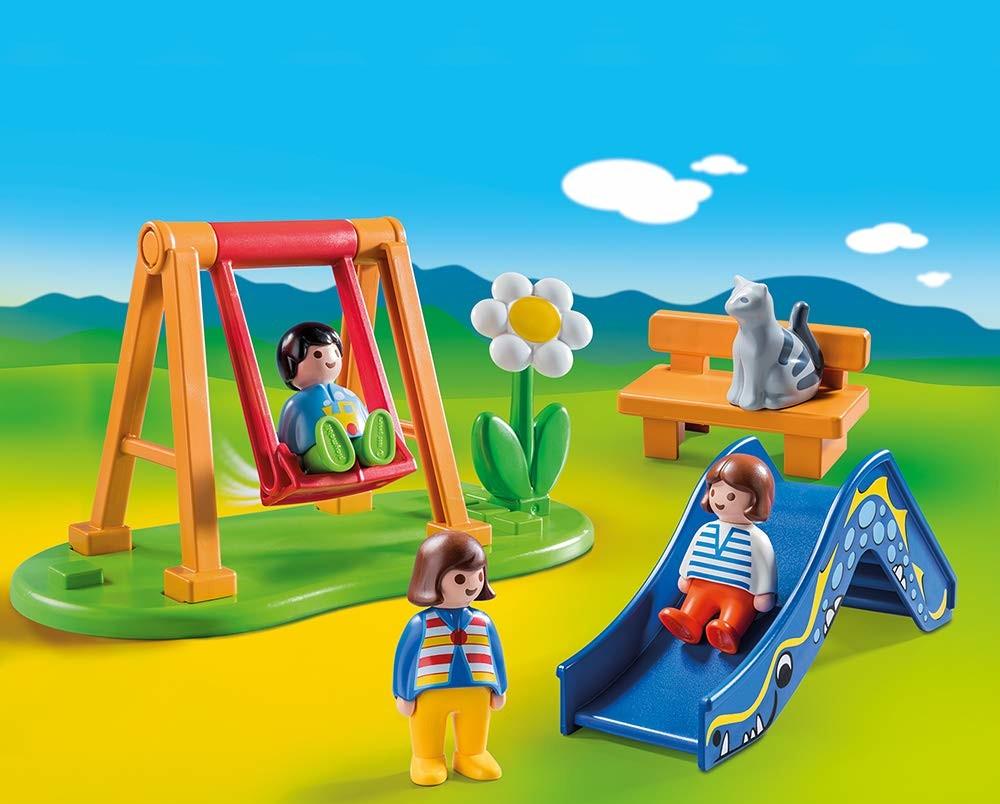 Jardin D'enfant - Playmobil 1.2.3 70130 pour Playmobil Jardin D Enfant