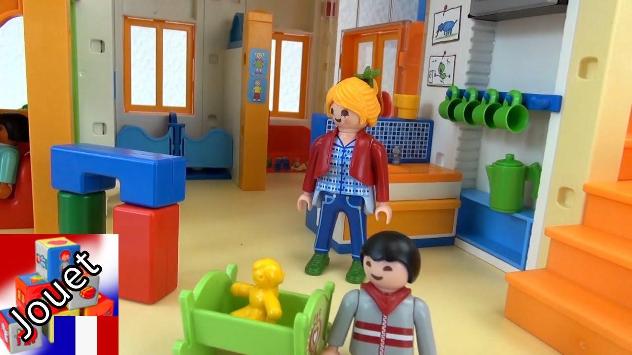 Jardin D'Enfants Playmobil – Démo Jardin D'Enfant Soleil Qui Brille  (Playmobil Francais) intérieur Grand Jardin D Enfant Playmobil