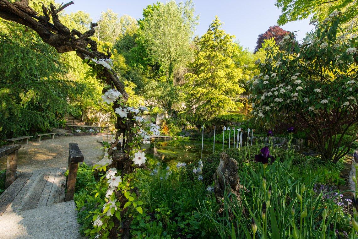 Jardin Des Fontaines Pétrifiantes - Site Officiel dedans Fontaine Naturelle Jardin