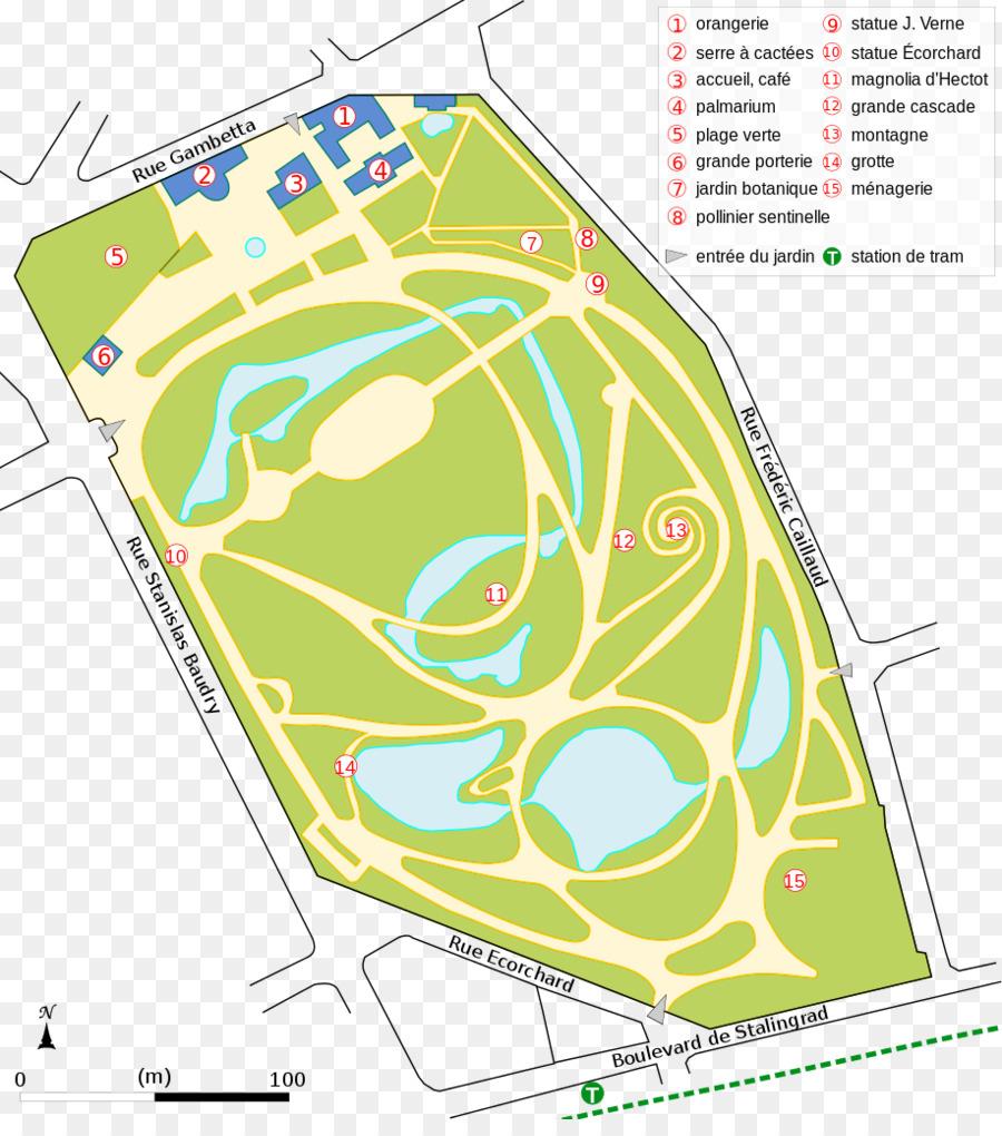 Jardin Des Plantes'e De Nantes, Jardin Des Plantes'e De Caen ... serapportantà Bache Verte Jardin