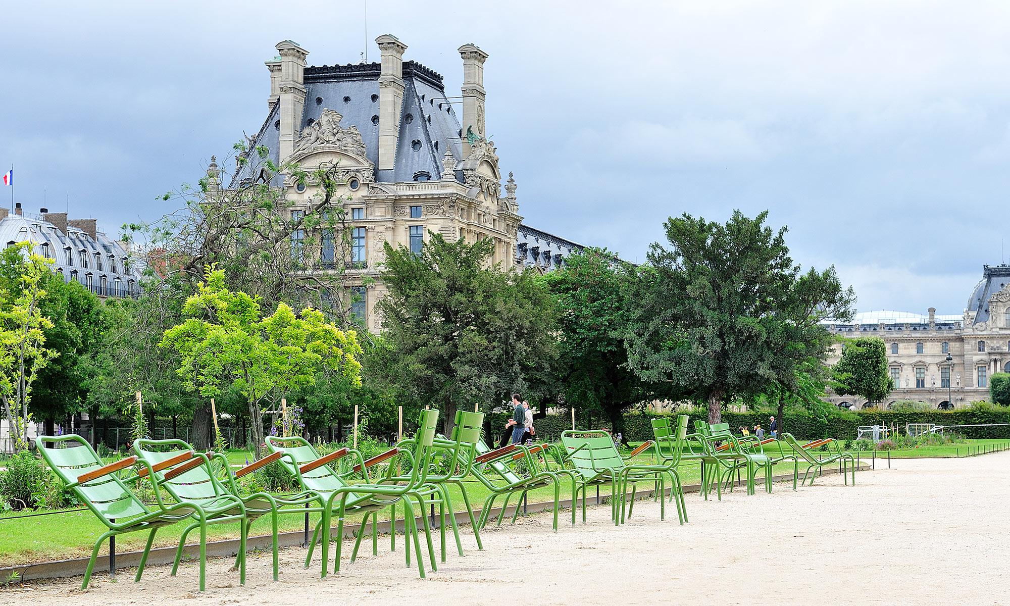 Jardin Des Tuileries - Parks & Gardens - Fermob Setting Up à Fermob Jardin Du Luxembourg