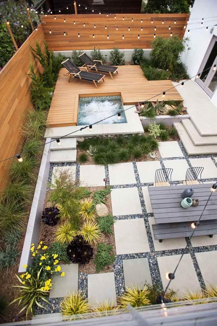 Jardin Design Contemporain En 35 Images Super Inspirantes ... encequiconcerne Am2Nagement Jardin