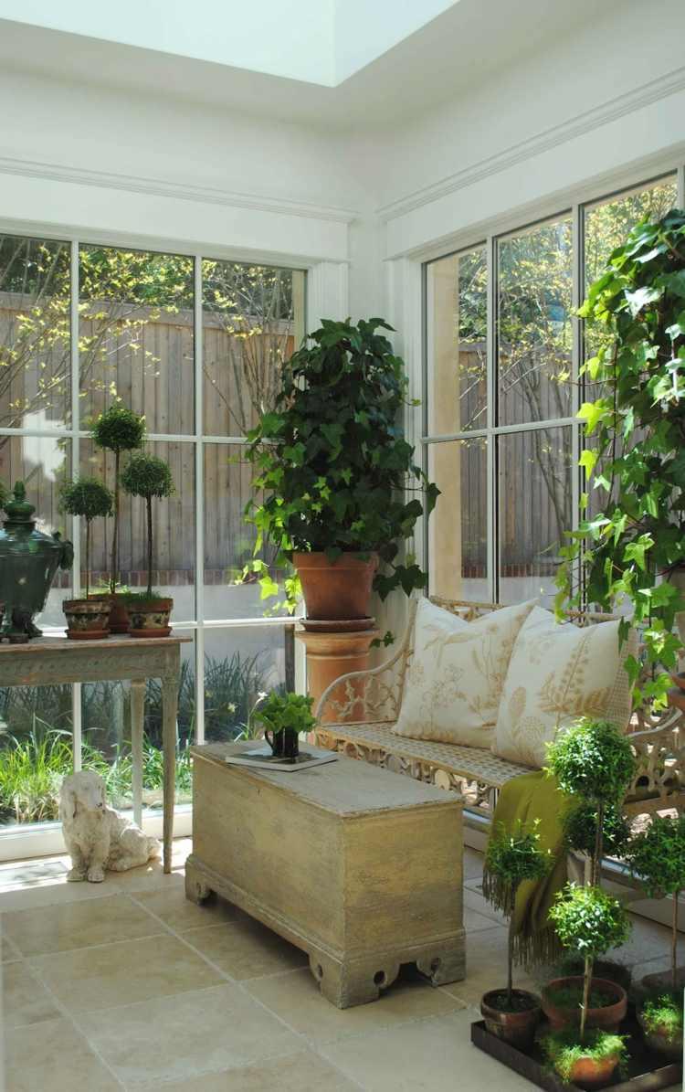 Jardin D'hiver Extérieur : Conseils Pour Réussir L ... dedans Construire Jardin D Hiver
