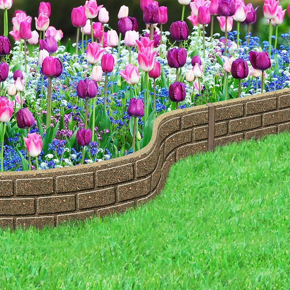 Jardin : Du Caoutchouc Recyclépour Les Bordures avec Bordure Jardin Caoutchouc
