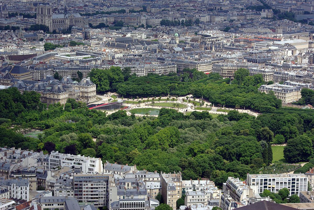 Jardin Du Luxembourg - Wikipedia destiné Jardin De Luxembourg Hotel