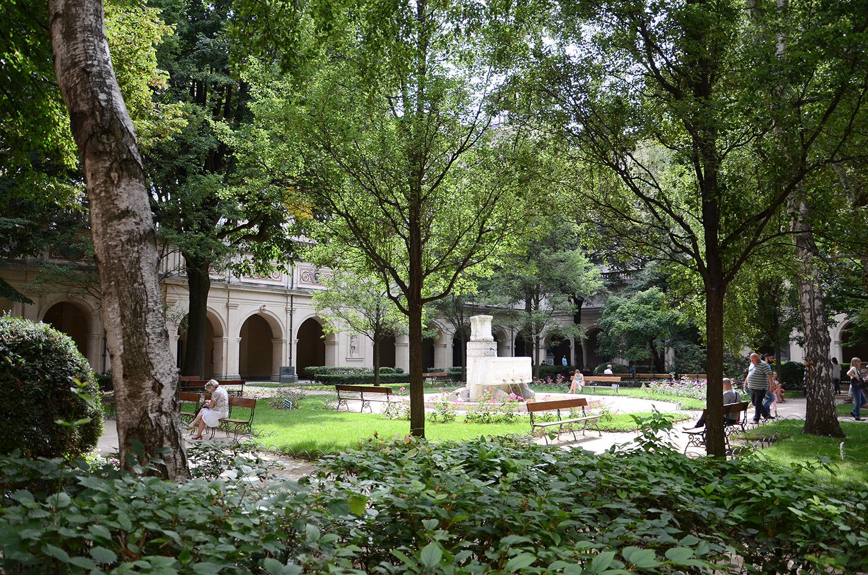 Jardin Du Palais Saint-Pierre — Wikipédia serapportantà Idée De Génie Jardin