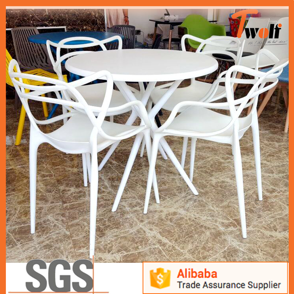 Jardin En Plastique En Plein Air Lowes Résine Empilable ... tout Table Et Chaise De Jardin En Plastique