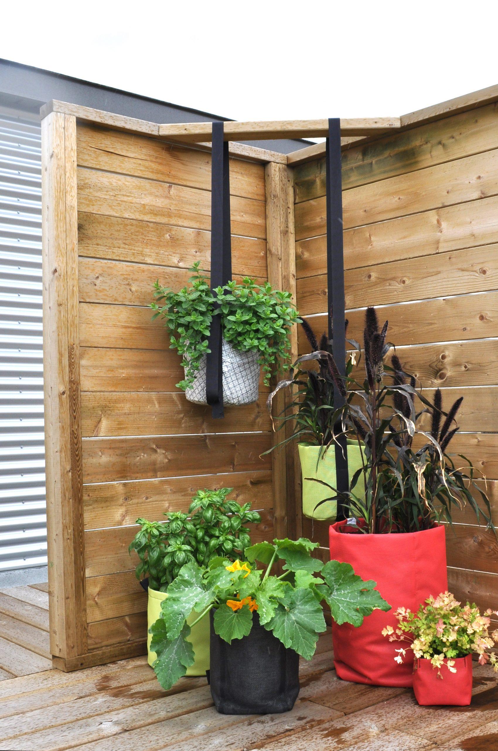 Jardin En Sac – Urban Seedling avec Geotextile Jardin