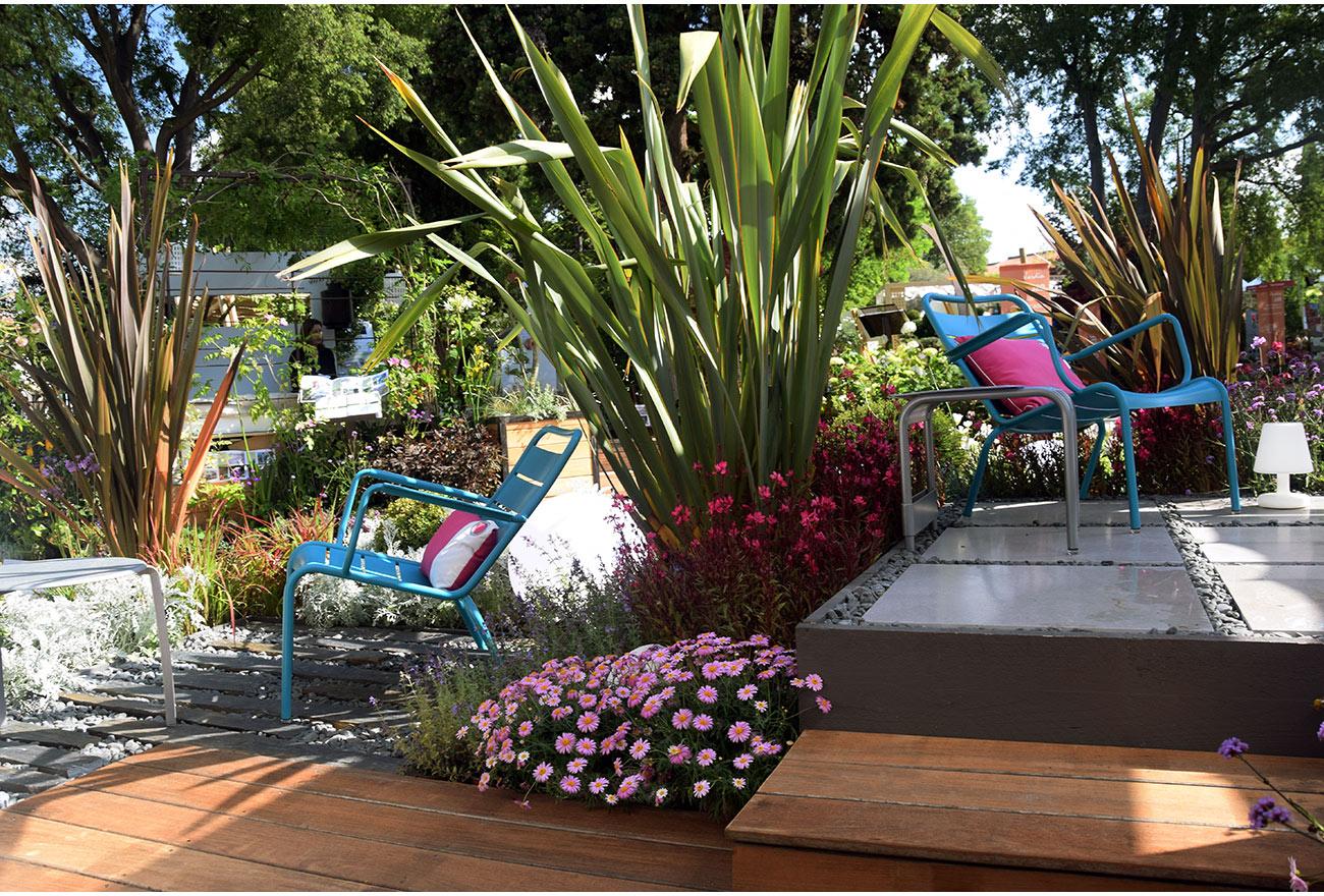 Jardin Éphémère Design Et Convivial - Paysagiste Montpellier concernant Salon De Jardin Montpellier