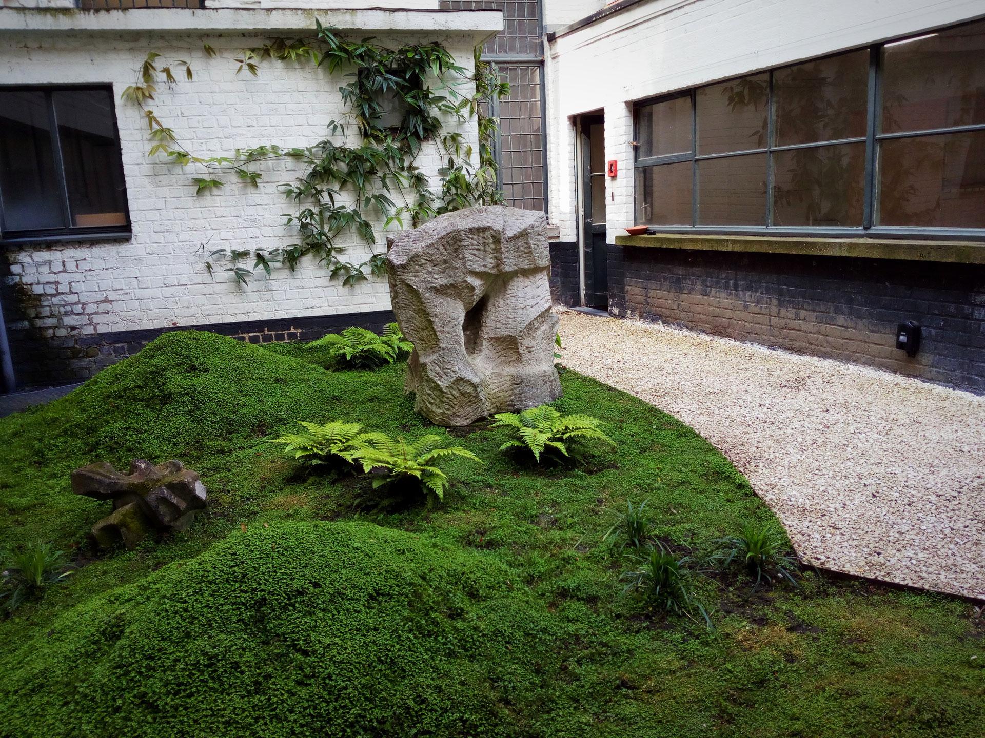 Jardin Esprit Zen - Paysagiste Bruxelles destiné Jardin Zen Belgique