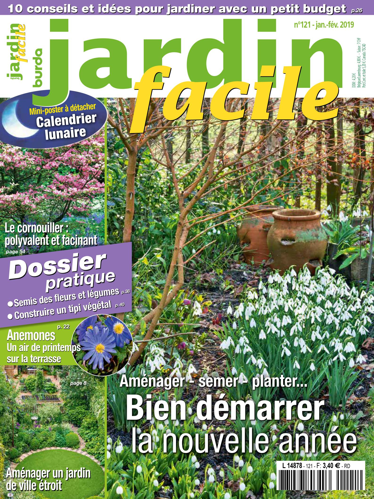 Jardin Facile encequiconcerne Revue Jardin Facile