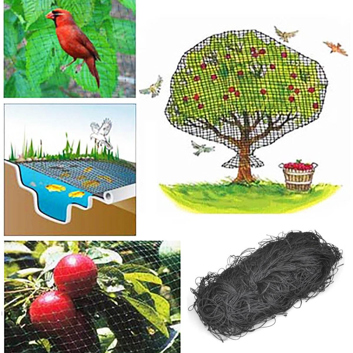 Jardin Filet De Protection Anti-Oiseaux Pour Filets De ... avec Filet De Jardin À Oiseaux