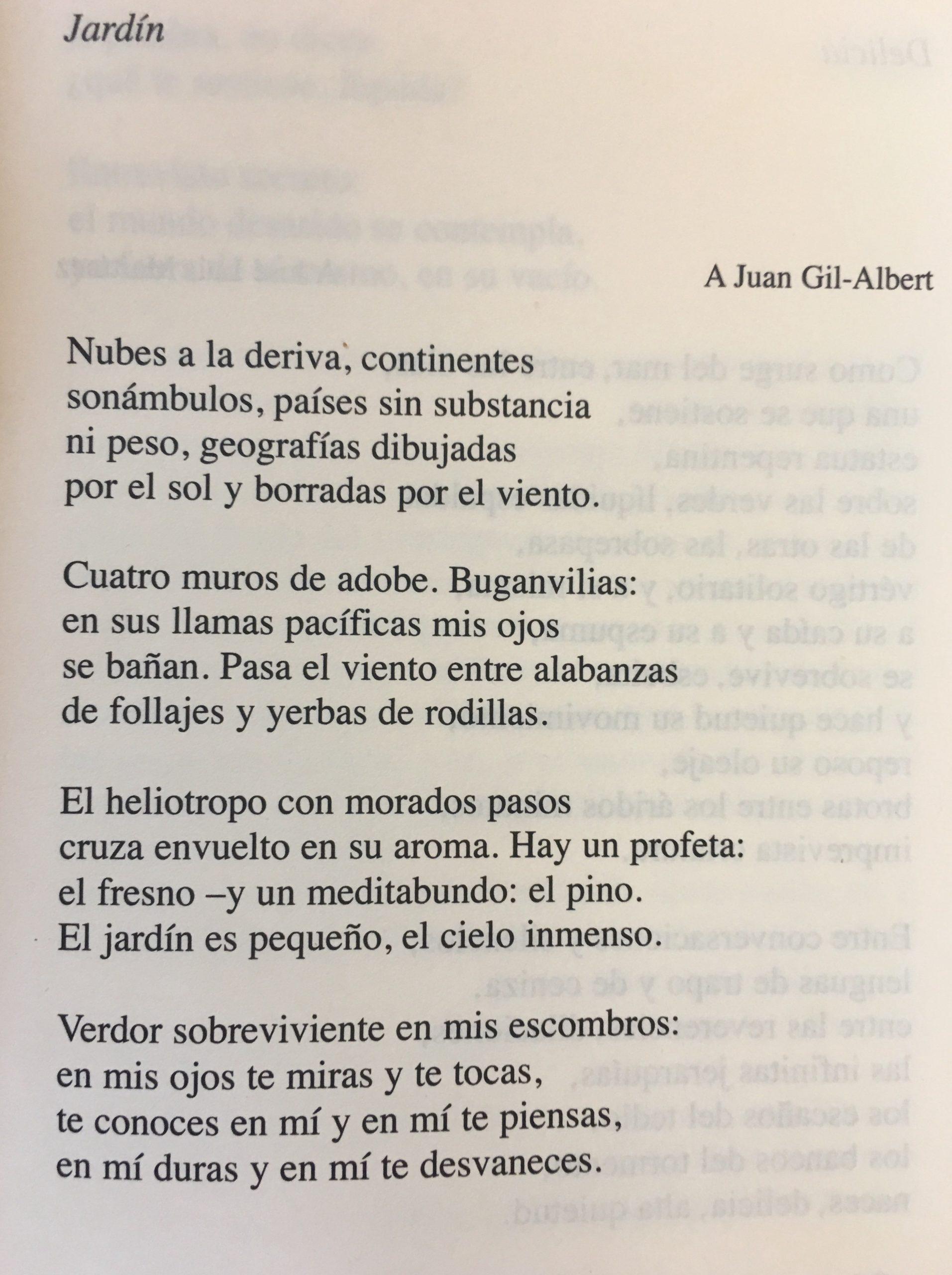 Jardín (Garden) By Octavio Paz (The First Translated Poem) encequiconcerne Transate Jardin