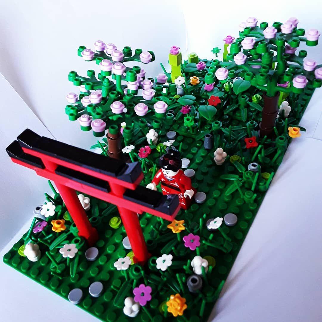 Jardin Japonais #construction #lego #japon #jardin | Plante ... dedans Construction Jardin Japonais