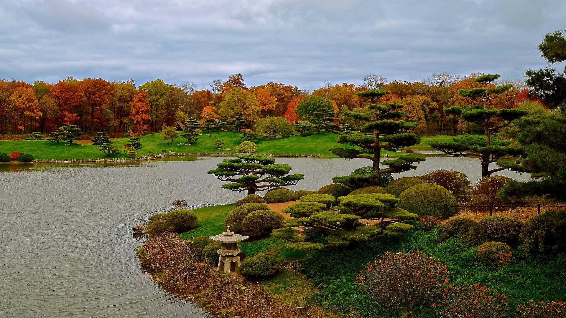 Jardin Japonais Fond D'écran Hd | Arrière-Plan | 1920X1080 ... intérieur Construction Jardin Japonais