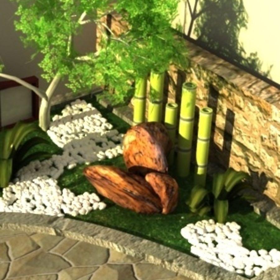 Jardin Japonais Modèle 3D $19 - .obj .max - Free3D intérieur Modele De Jardin Japonais
