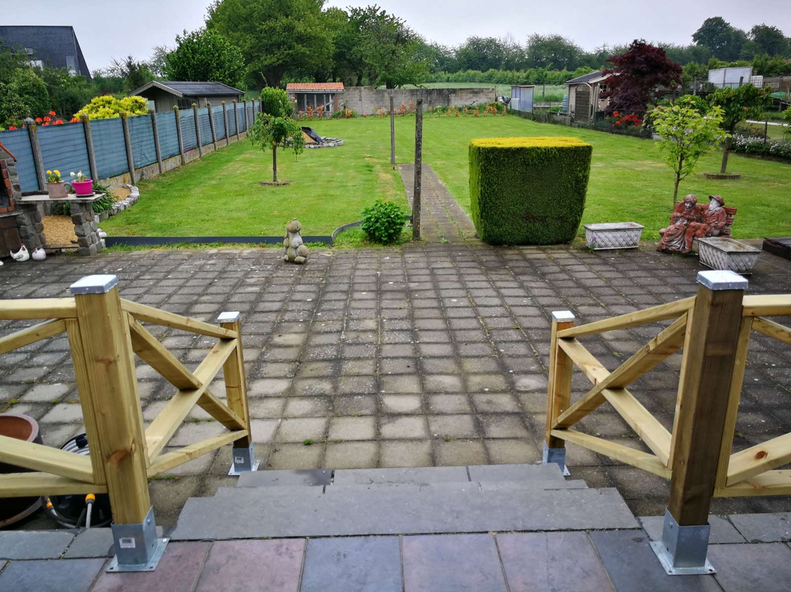 Jardin – Menuiserie Servi-Wood tout Croisillon Jardin