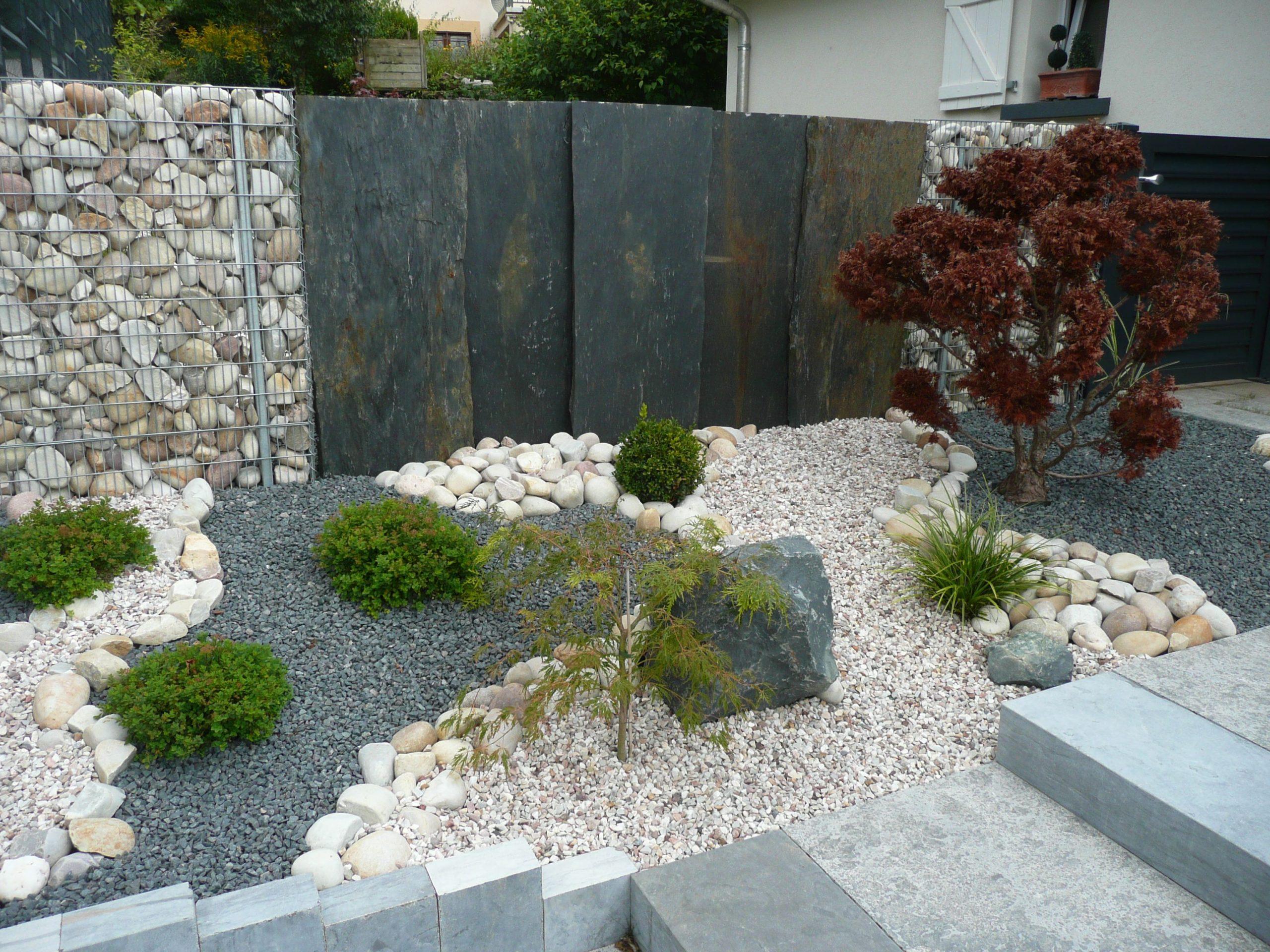 Jardin Minéral Et Végétal | Jardin Minéral | Aménagement ... concernant Caillou Pour Jardin