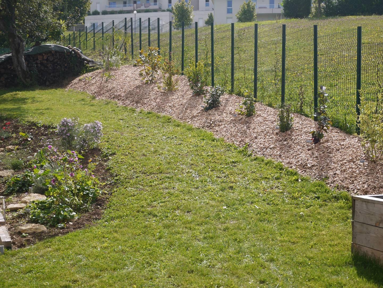 Jardin   Notre Maison Ossature Bois encequiconcerne Copeaux De Bois Jardin Pas Cher