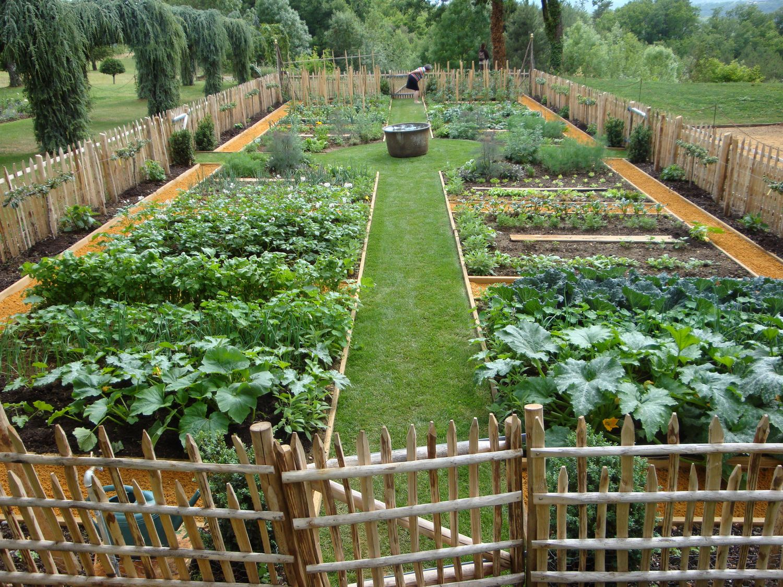 Jardin Potager - Eyrignac Et Ses Jardins : Eyrignac Et Ses ... concernant Acheter Un Jardin Potager