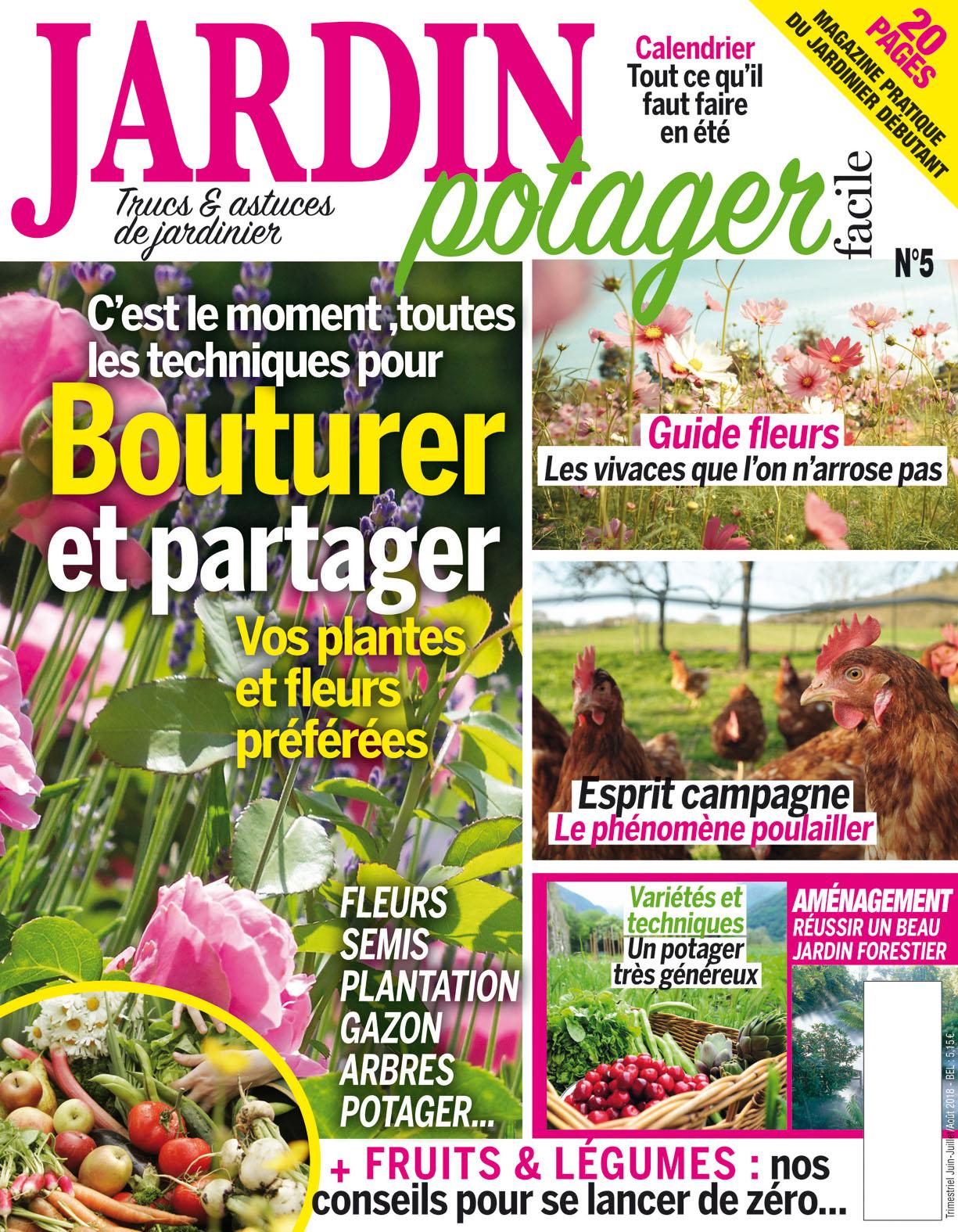 Jardin Potager Facile N°05 concernant Revue Jardin Facile