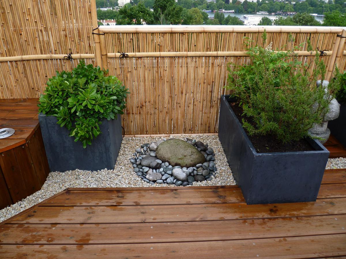 Jardin Sur Terrasse Un Sol Parfait Pour Sa Terrasse De ... à Jardin Japonais Sur Terrasse