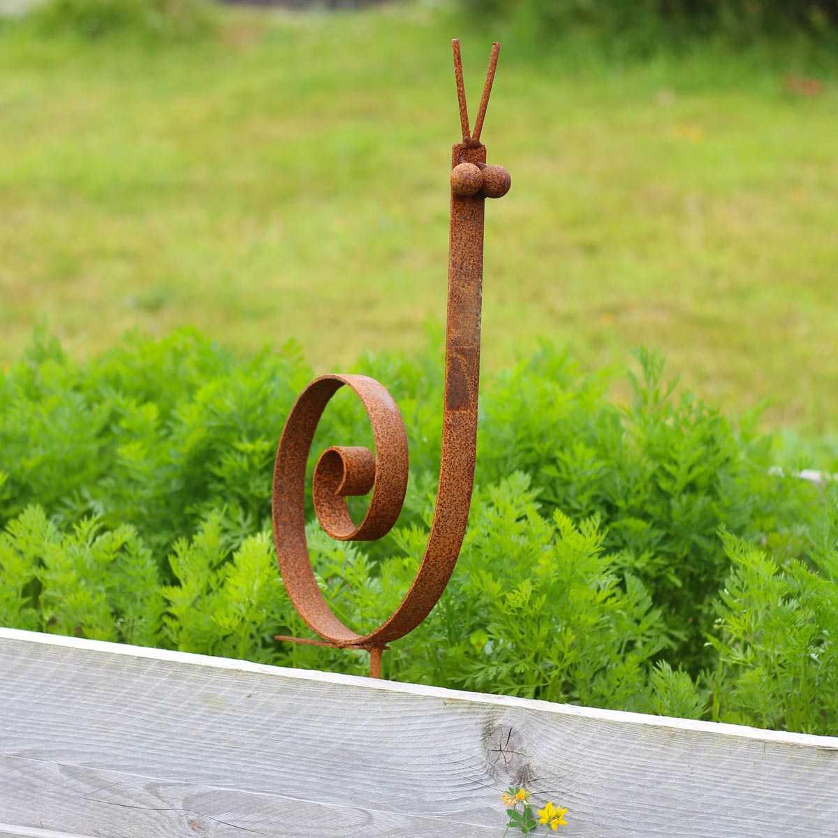 Jardin, Terrasse Décorations De Jardin Jardin Couronne ... pour Deco Metal Jardin